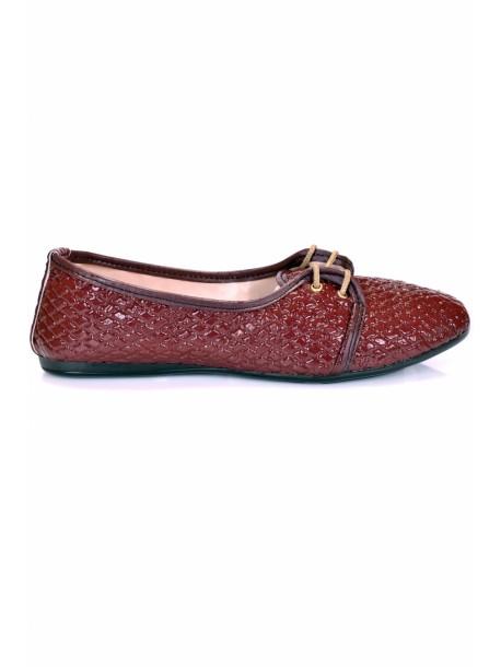 Pantofi Graisy bordo