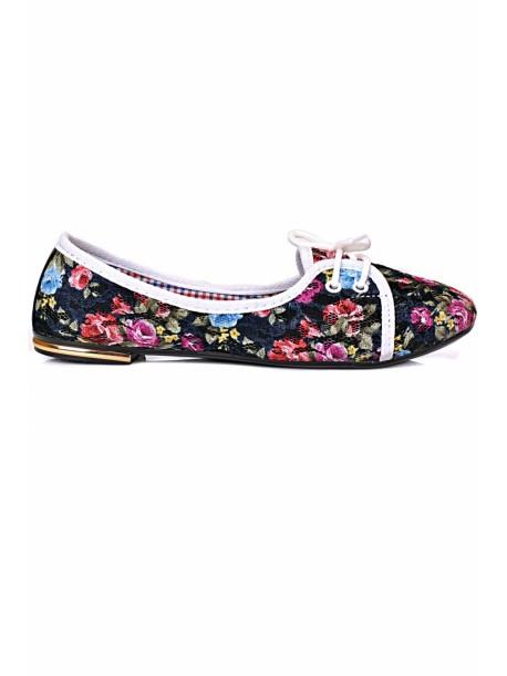Pantofi negri Olga