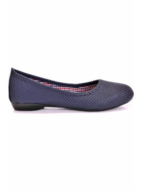 Pantofi Ashly albastri