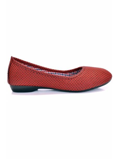 Pantofi Ashly bordo