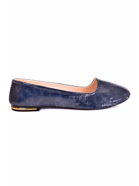 Pantofi Leyla albastru inchis