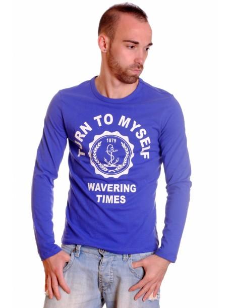 Tricou WOODMAX albastru