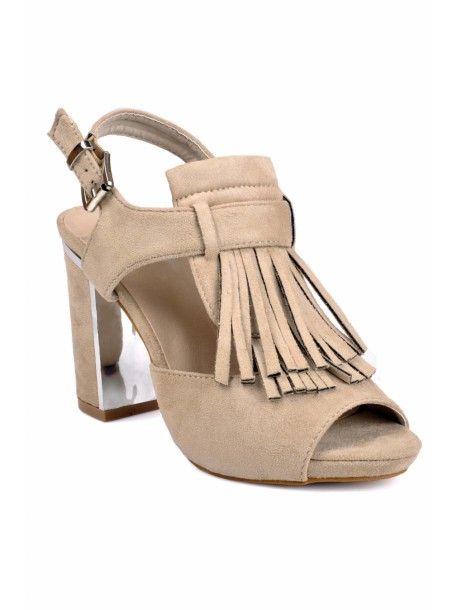 Sandale cu ciucuri Yana