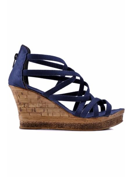 Sandale Molita albastru inchis
