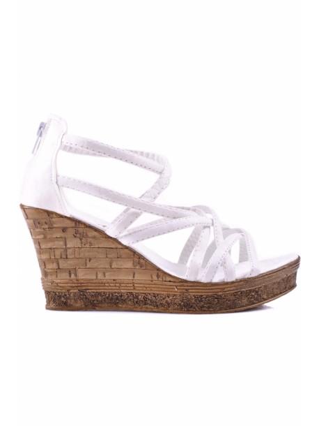Sandale Molita albe