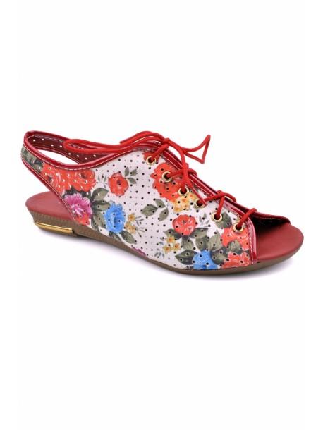 Sandale Doli culoarea rosie