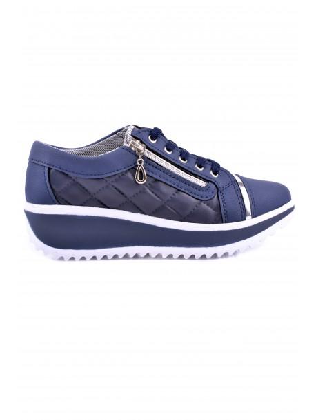 Pantofi Sanya albastri