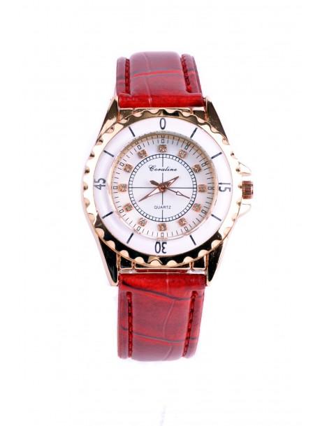 Ceas de dama Kara culoarea rosie