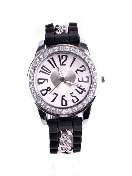 Ceas Latina negru