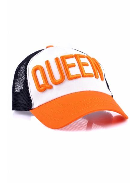 Sapca Queen portocalie
