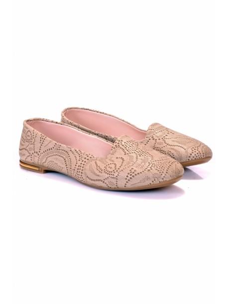 Pantofi Zaki bej