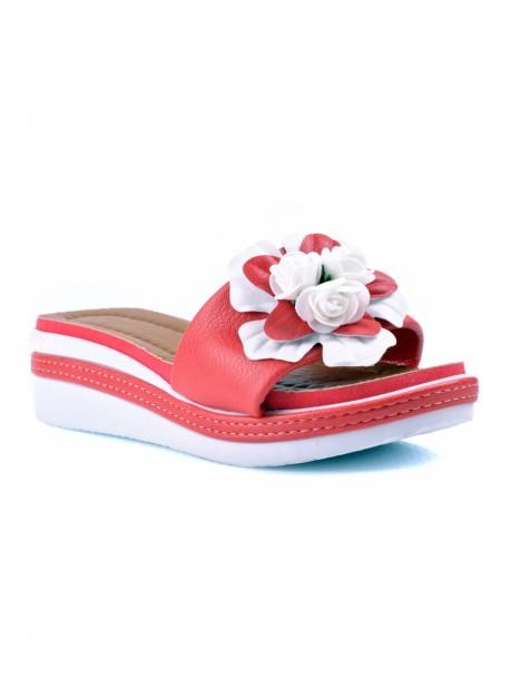 Papuci cu talpa ortopedica Rali roz