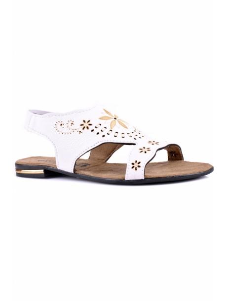 Sandale Lali albe