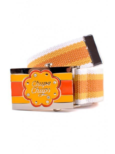 Curea de dama din textil Chupa Chups