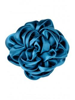 Brosa de dama Trandafir in albastru