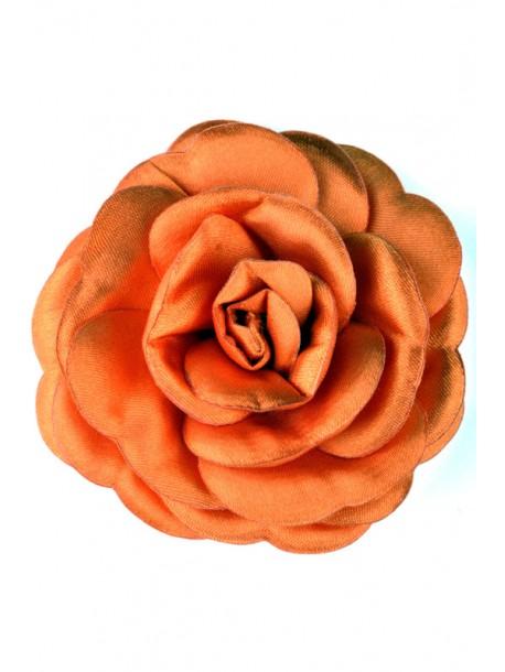 Brosa portocalie Trandafir