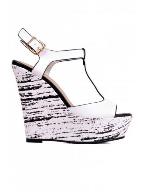 Sandale de dama albe