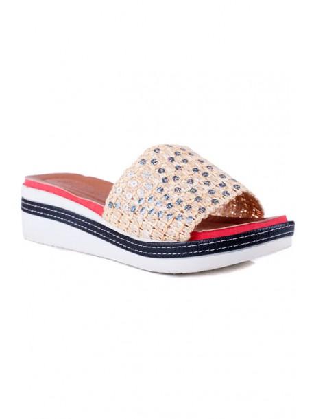 Papuci de dama cu talpa ortopedica Vanya