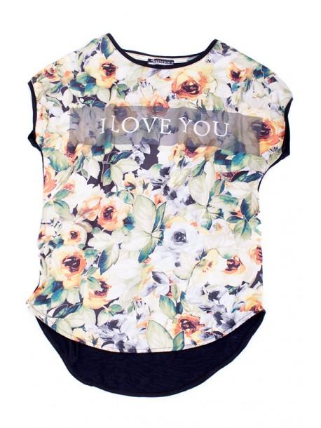 Tricou de dama I love you