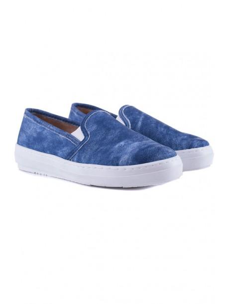 Pantofi de dama din material de blugi