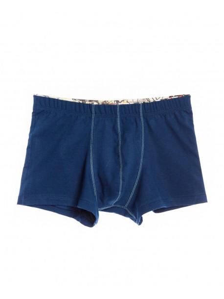 Boxeri clasici albastri