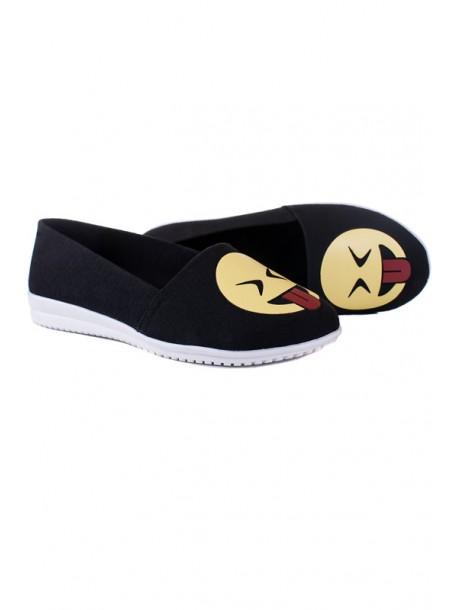 Pantofi negri cutalpa joasa Emotion