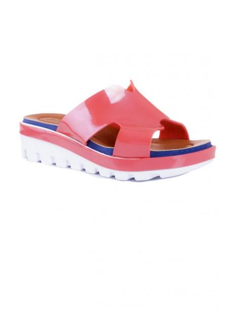 Papuci lac roz