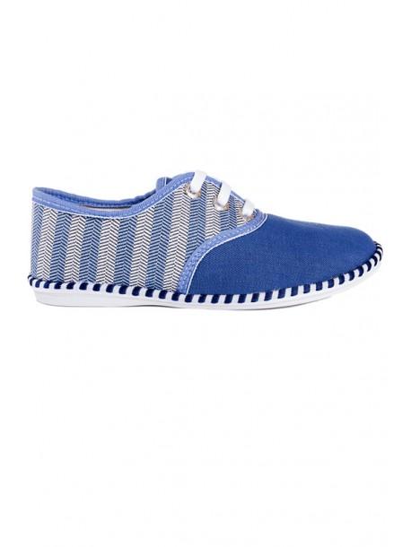 Pantofi Julieta albastru