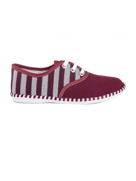 Pantofi Julieta bordo