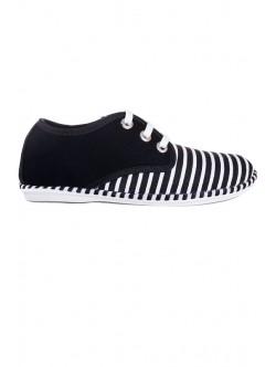 Pantofi negri cu talpa joasa Julieta
