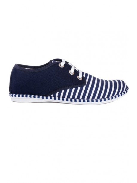 Pantofi albastri cu talpa joasa Julieta