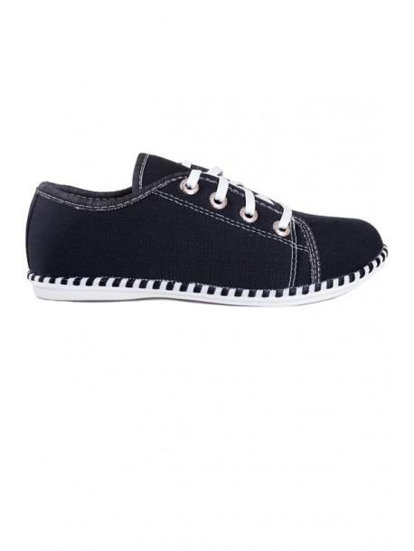 Pantofi negri Sany