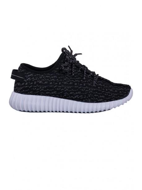Adidasi de dama in culoarea negra