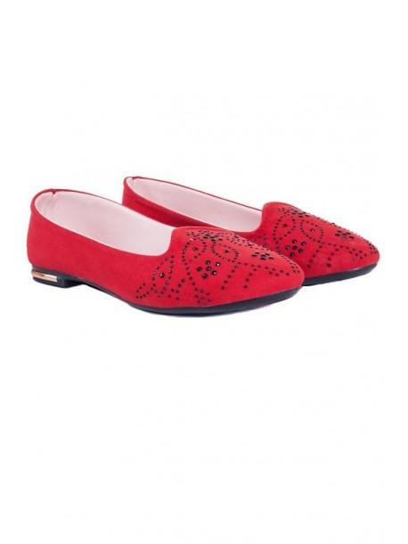 Pantofi in culoarea rosie Marisa