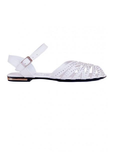 Sandale albe Vesela