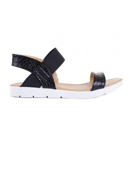 Sandale negre Monica