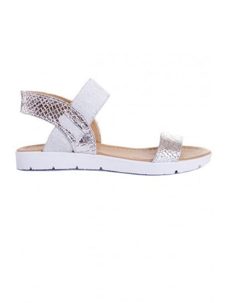 Sandale argintii Monica