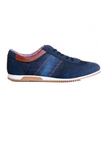 Pantofi barbatesti din material de blugi