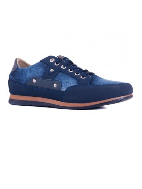 Pantofi sport din material de blugi