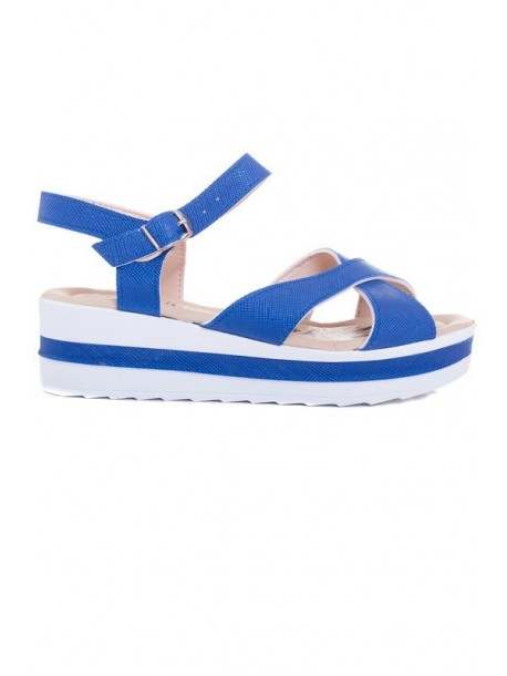 Sandale albastre Lili