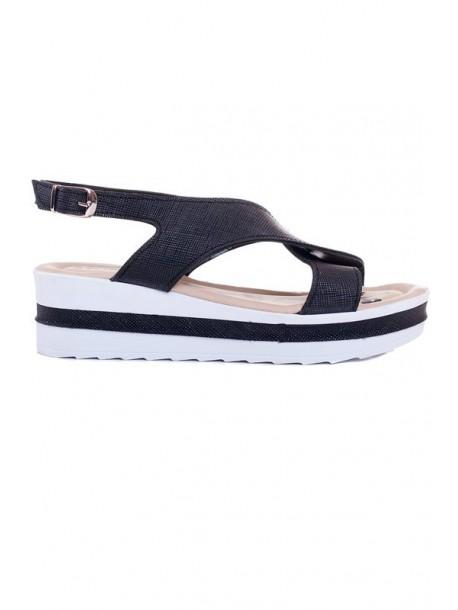 Sandale negre Ira