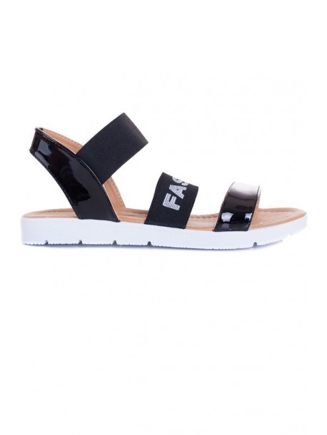 Sandale negre Fashion