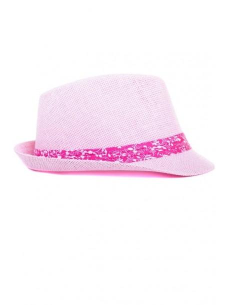 Palarie de dama roz