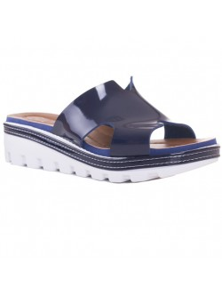 Papuci lac albastru
