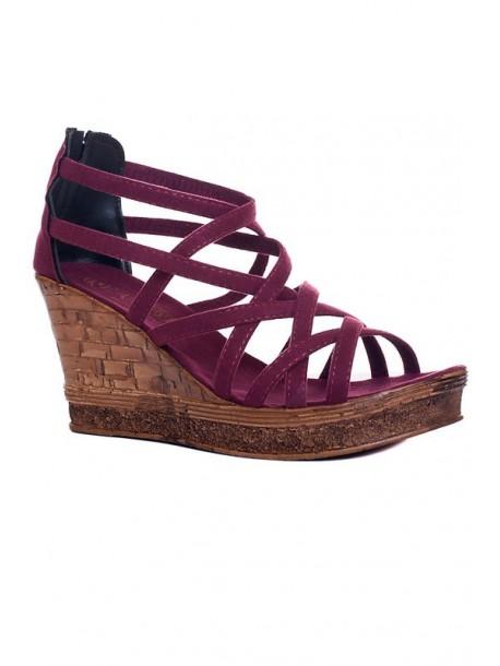 Sandale cu talpa groasa Molita