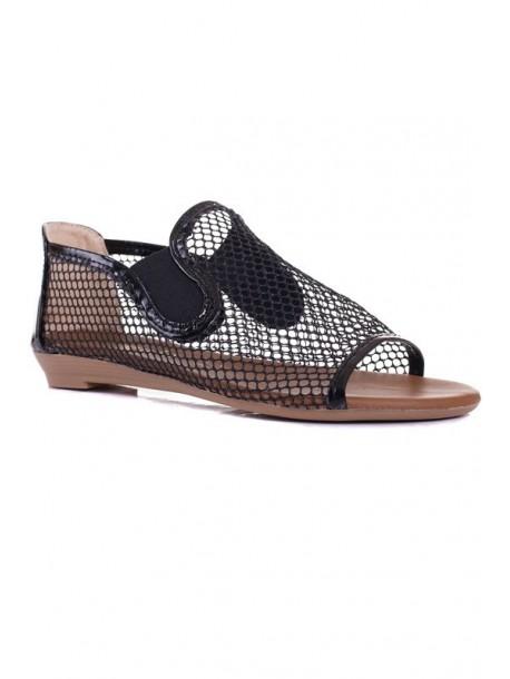 Sandale negre Katya