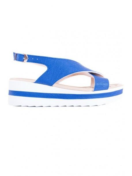 Sandale albastri Ira