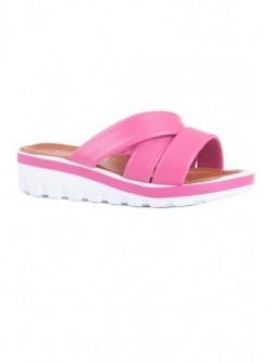 Papuci roz platforma
