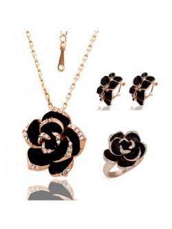 Set Golden rose