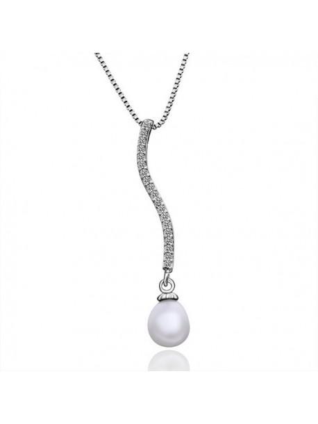 Colier - pandantiv cu perla